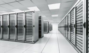 picture of server farm to denote business continuity
