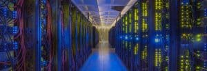 Data Backup - Picture of State-of-the-Art Data Center