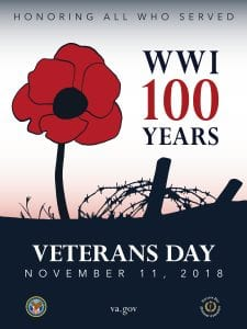 Veterans Day poster, courtesy of va.gov